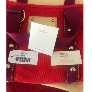 Louis Vuitton Cabas Rouge PM